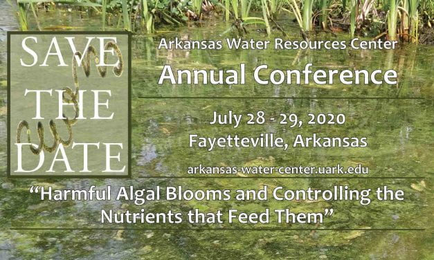Save the Date for the 2020 Arkansas Water Resources Center Annual Conference