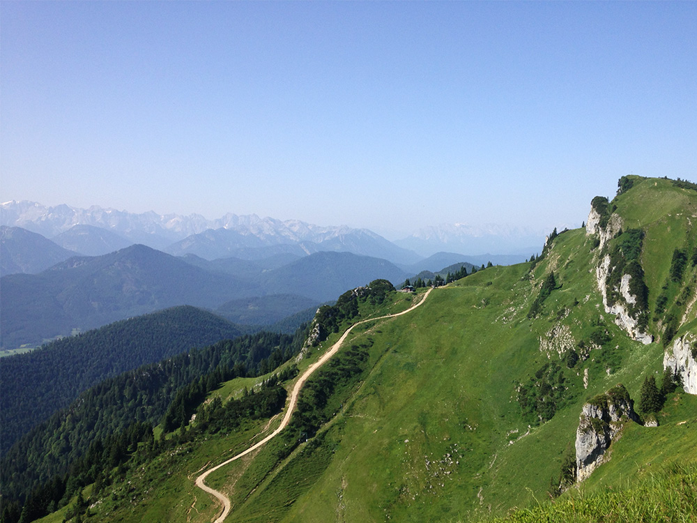 One of Feekin's favorite photos of the Bavarian Alps.