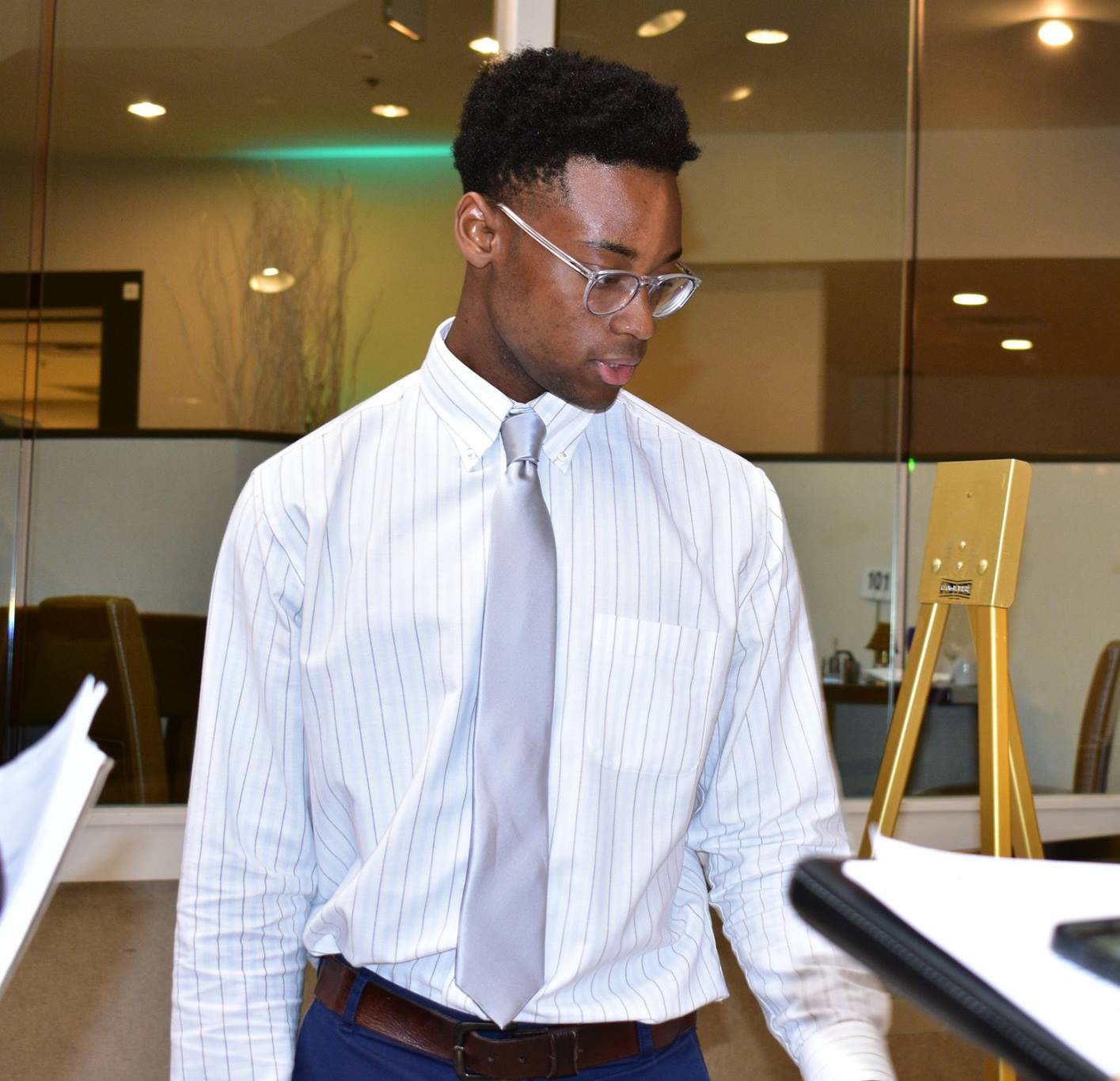 On the 2018 National Society of Black Engineers Conference