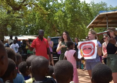 research in cultural competency proved valuable while studying public health in Ghana.