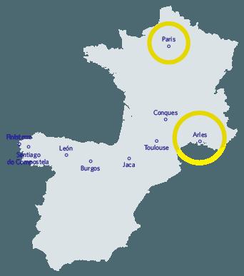 Buen Camino Map
