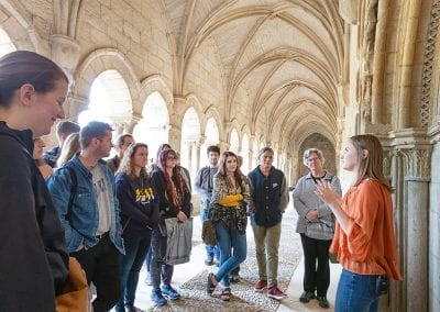 Darci Walton presents at Las Huelgas, a 12th century convent where royal abbesses reigned