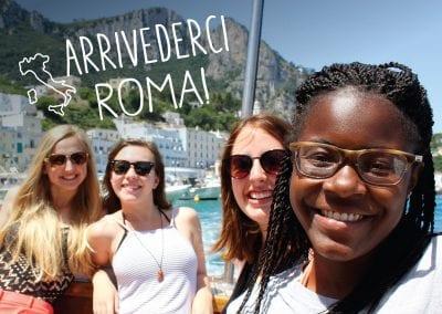 Arrivederci Roma!