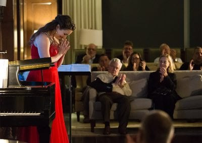 Sarah Mesko was able to pursue her love of opera thanks to the Bodenhamer Fellowship.