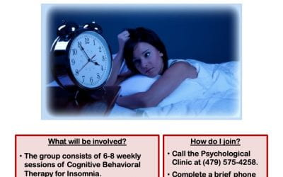 Can't Sleep? U of A Psych Clinic Offering Group Therapy