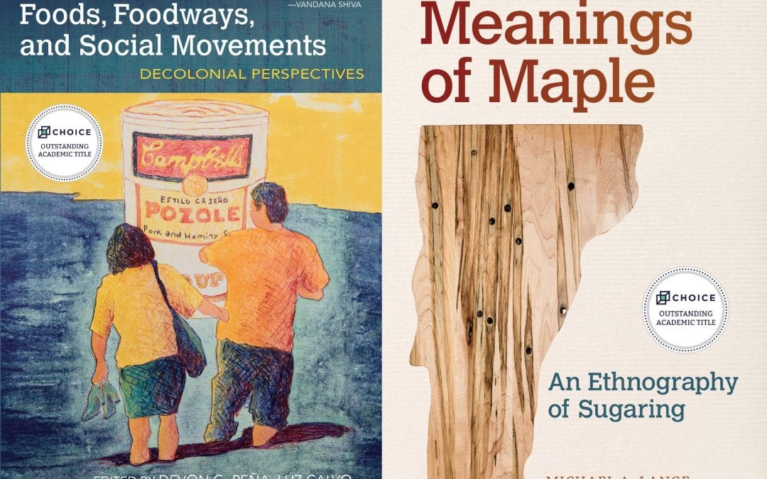 Two Food and Foodways Series Titles named Choice Outstanding Academic Titles