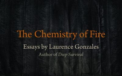 "Kirkus Reviews says the essays in The Chemistry of Fire ""explore what it means to be human."""