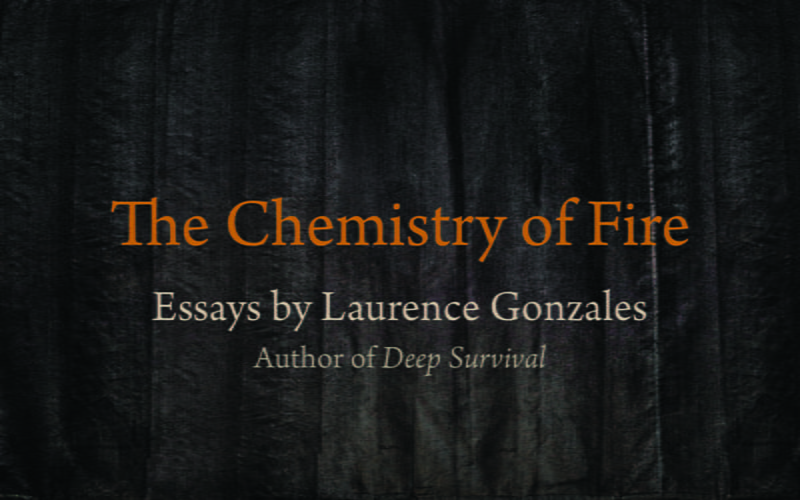"""Kirkus Reviews says the essays in The Chemistry of Fire """"explore what it means to be human."""""""