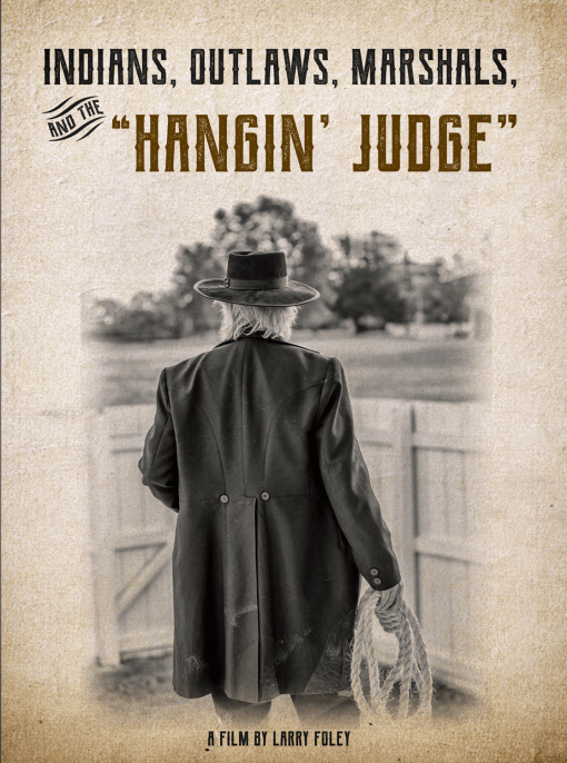"""cover image for the DVD Indians, Outlaws, Marshals, and the """"Hangin' Judge"""""""