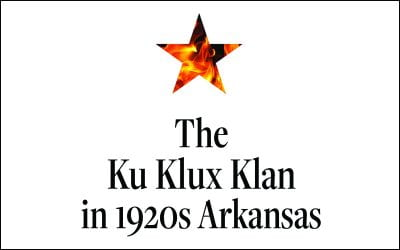 Cover Reveal: The Ku Klux Klan in 1920s Arkansas