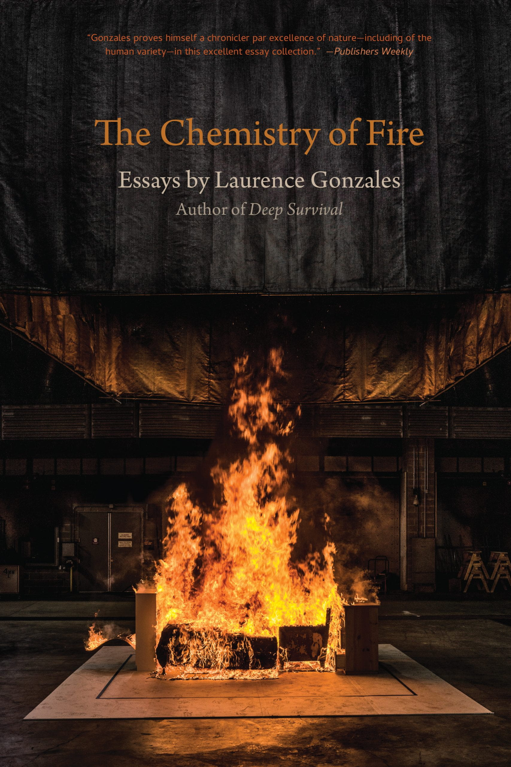 cover for The Chemistry of Fire by Laurence Gonzales
