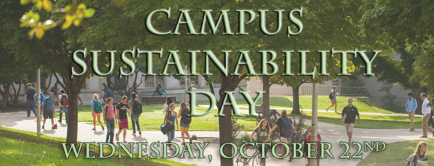 Campus Sustainability Day 2014 Events