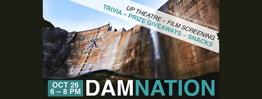 "Join Us for ""Dam Nation"" Documentary Screening Oct 26"