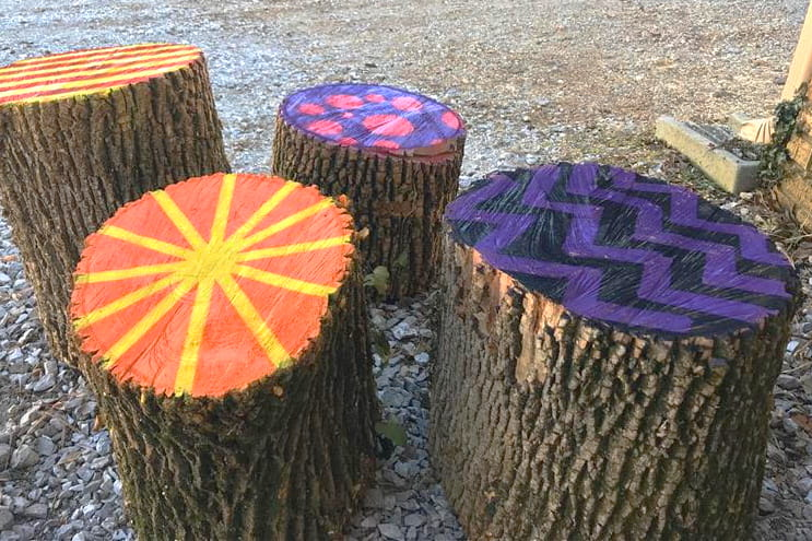 Tactical Urbanism & Stump Seats