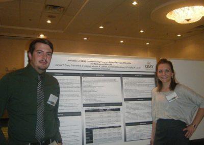 JT and Sam presenting at NCCCAP
