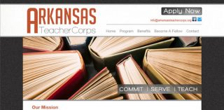 Image: Website of Arkansas Teacher Corps