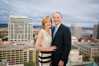 Cathy and Mike Mayton are members of the new Arkansas Teacher Corps Society. Photo courtesy of yassinephoto.com