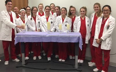 U of A Nursing Students Learn from Mental Health Awareness Event