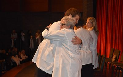 Nursing School Ushers Newest Group of Students Into Clinical Practice With White Coats