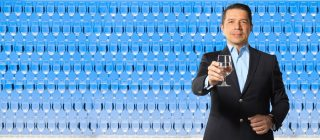 """Stavros Kavouras, director of the Hydration Science Lab, says, """"We believe that drinking water is a simple and economic way to improve health, performance, and quality of life."""""""