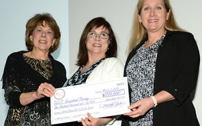 Occupational Therapy Program Receives $100,000 Award From UAMS Chancellor's Circle