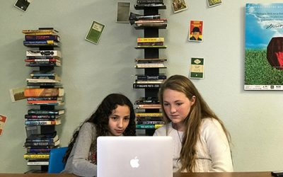 U of A Alumna Leads Middle School Girls in Podcasting Venture