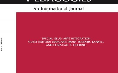 Goering Co-Edits Special Issue of International Journal on Arts Integration Research