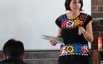 Teaching in Mexico Adds New Dimension to First-Year Teacher's Experience