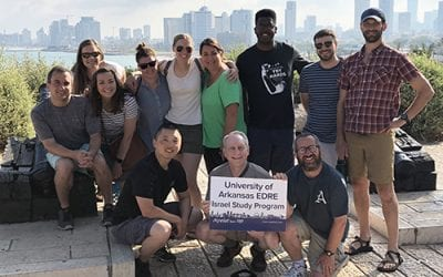 Education Policy Students Make Comparisons During Trip to Israel
