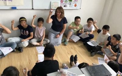 Northwest Arkansas Teachers Take Young Writers Camp to China