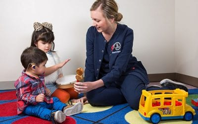 Article Describes Information Parents of Children With Hearing Loss Need Throughout Child's Life