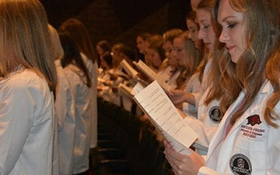 Nursing School Launches Newest Class of Students With White Coat Ceremony