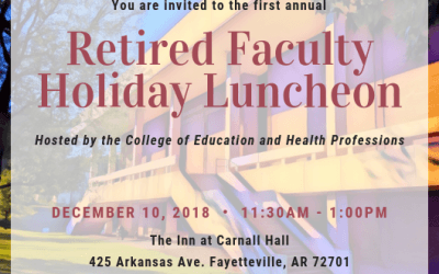College Hosts First Luncheon Honoring Retired Faculty