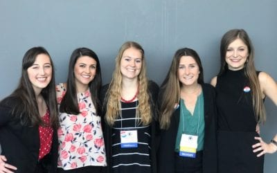 Five Nursing Students Elected to State Association Board