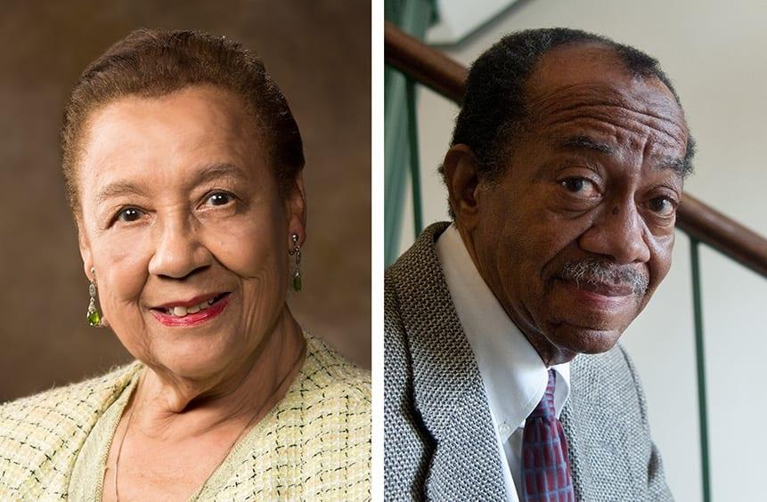 Residence Halls Named for Professors Emeriti Margaret Clark, Gordon Morgan
