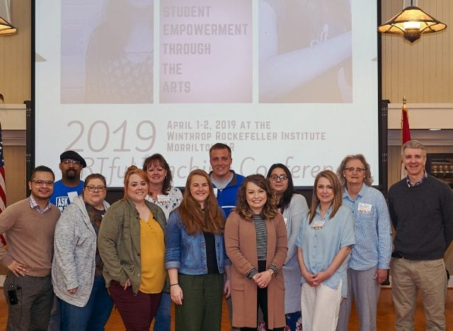 Sponsored educators who attended the ARTful Conference