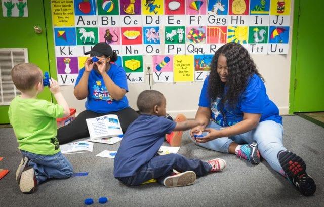 Delta Autism Project, students