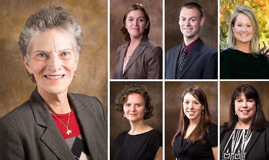 Outstanding COEHP Faculty Members Honored at Reception