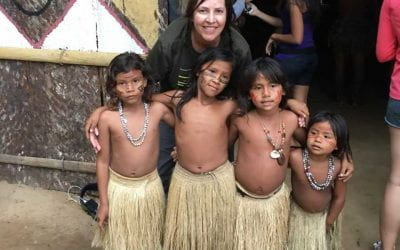 U of A Nursing Student Serves as Translator on Mission Trip Along the Amazon River