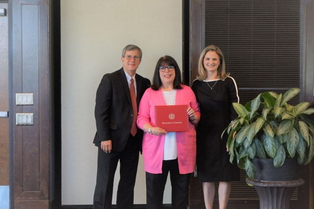 Marcia Imbeau, faculty awards