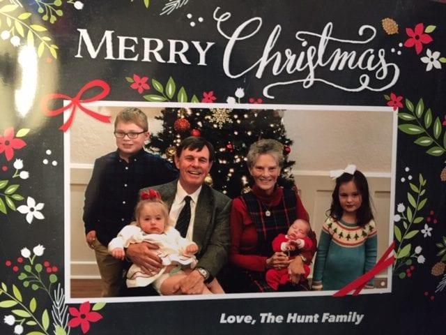 Sharon Hunt and grandchildren