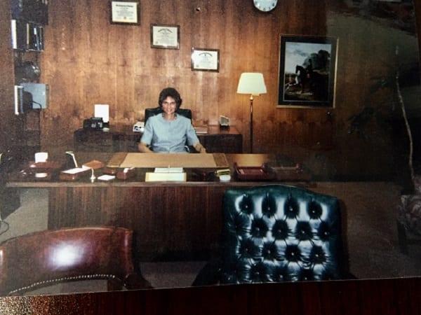 Sharon Hunt, interim dean 2000-2001