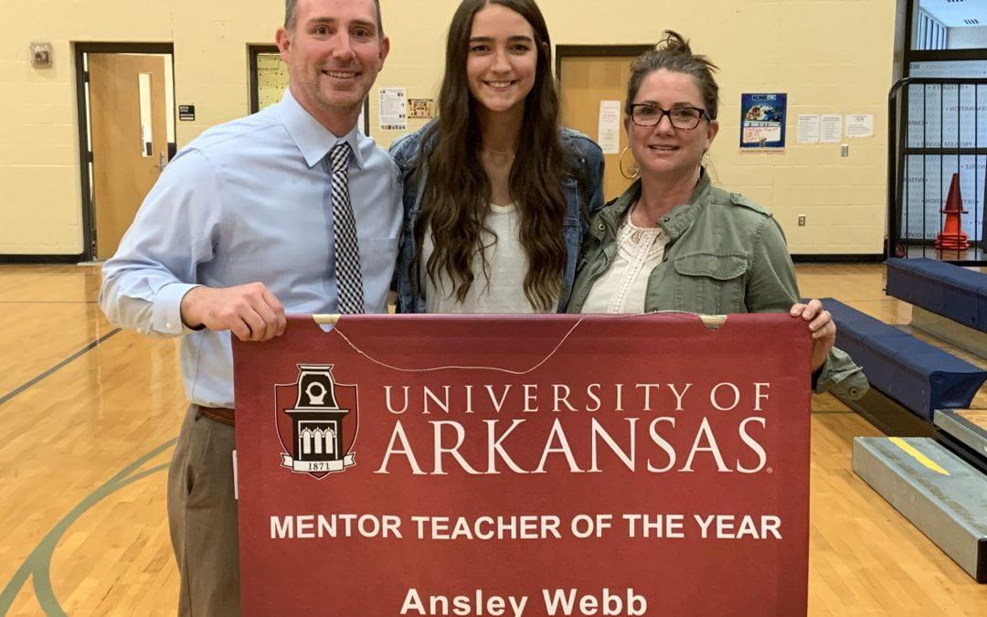 Mentor Teachers Honored for Vital Role in U of A Educator Prep Program