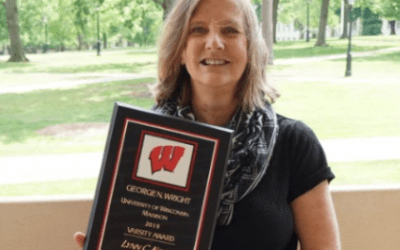 Counseling Professor Lynn Koch Receives 2019 George N. Wright UW-Madison Varsity Award
