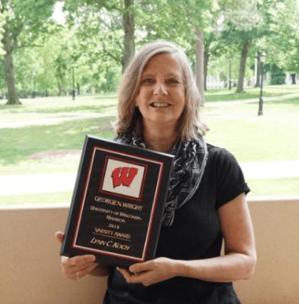 Counseling Professor Lynn Koch Receives 2019 George N. Wright UW-Madison Varsity Award