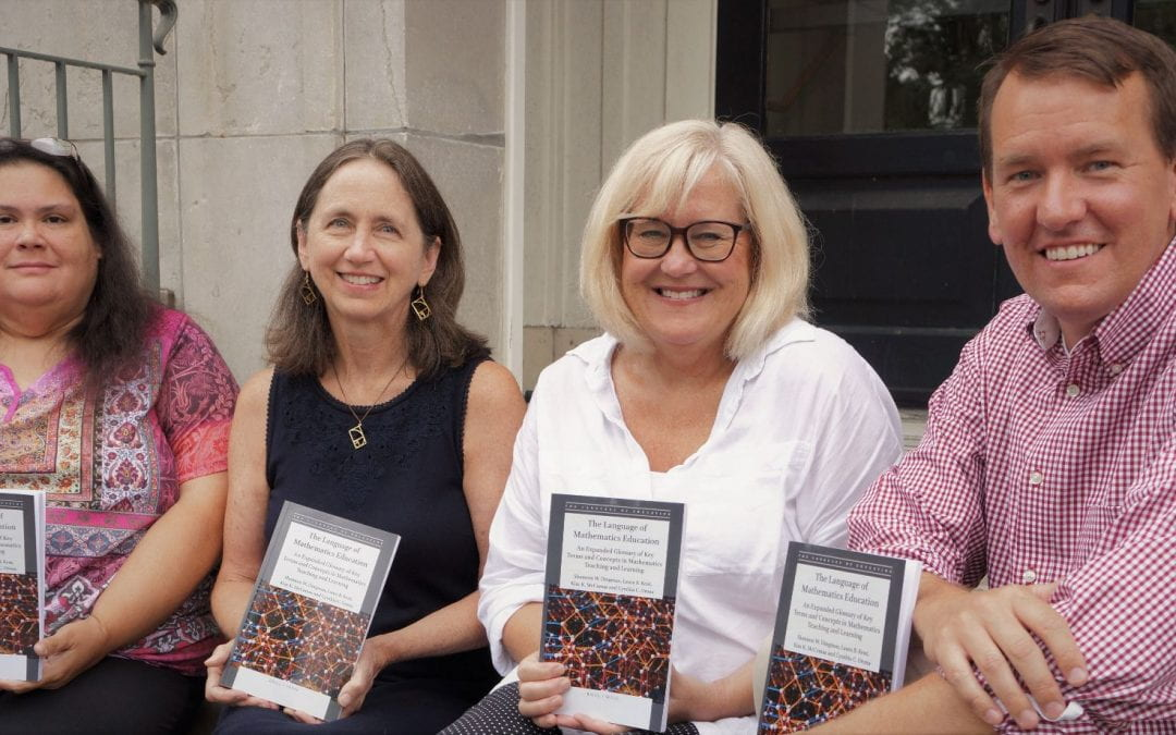 Interdisciplinary Team of U of A Faculty Coauthor Book that Defines Math Education Terms