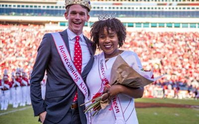 Nzelu and Johnson Crowned 2019 Homecoming Queen and King