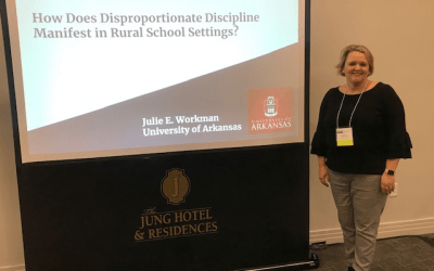 Doctoral Student Julie Workman Wins Research-in-Progress Award at MSERA Conference