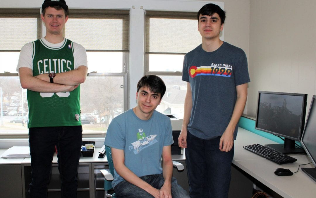 Three Students in the U of A Autism Support Program Invited to Hewlett-Packard for Success Program