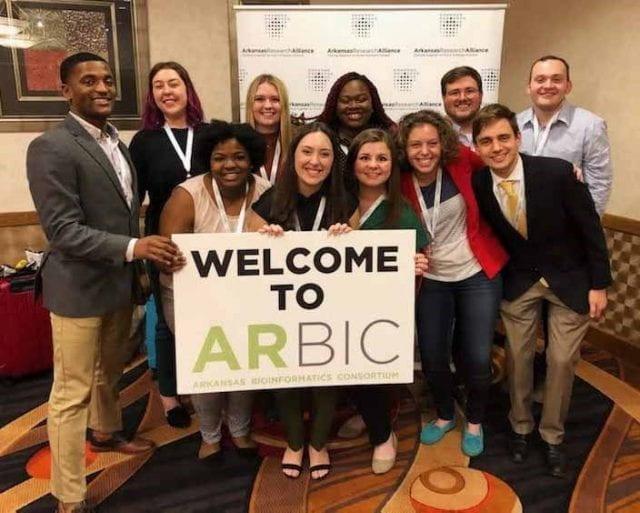 Arkansas Bioformatics Consortium, Jessica Gilmore, Kinesiology